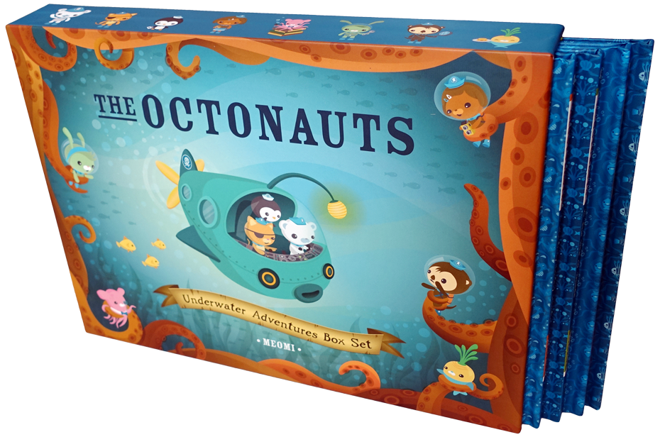 The Octonauts Underwater Adventures Box Set